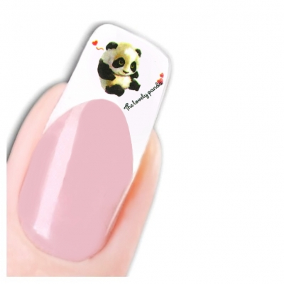 Tattoo Nail Art Aufkleber Panda Bär Herz Nagel Sticker - 1