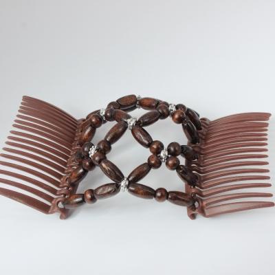 Trend African Hairclip Haarklammer Haarspange Hair Clips Haarkamm Braun - 4