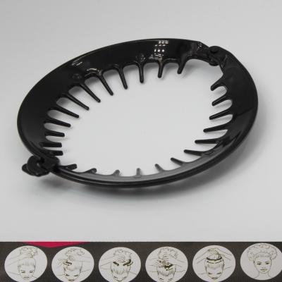 Hairclip Haarring Haarklammer Haarkamm für gekräuseltes lockiges Afro Haar - 1