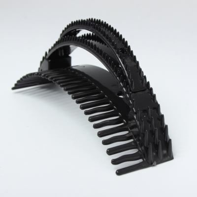 Frisurenhilfe Pony Haarkamm Volume Bumpits Styling Tool 3er Set Schwarz - 1
