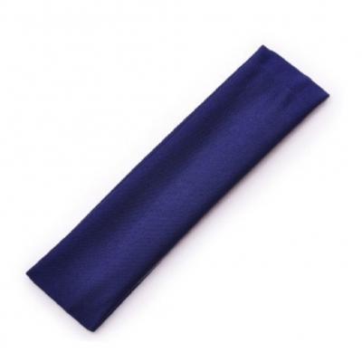 Sporthaarband Stirnband Haargummi Haarband für Sport Yoga Fitness Schweißband Schwarz - 2