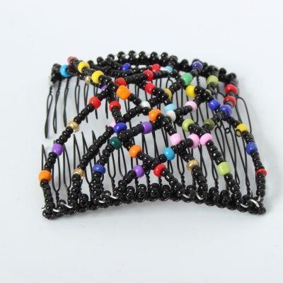 Trend Magic Combs Perlen Butterfly Haarklammer Bunt Pailletten - 1