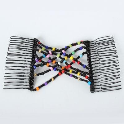 Trend Magic Combs Perlen Butterfly Haarklammer Bunt Pailletten - 3