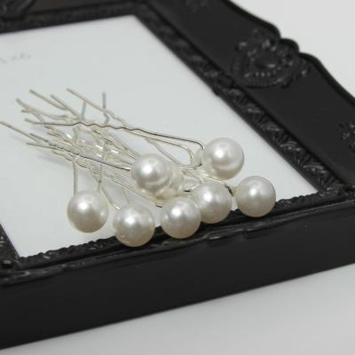 10 Haarnadeln mit großer Perle - 2