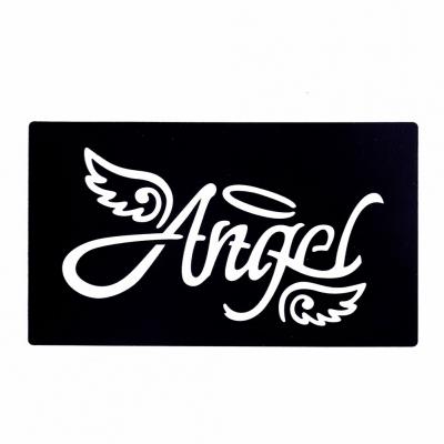 Henna Tattoo Schablone Airbrush Stencil Selbstklebend Angel Engel - 1