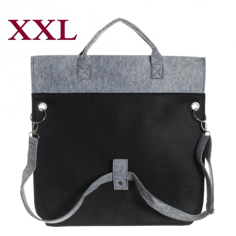 XXL Filztasche, Shopper Handtasche, Einkaufstasche Groß und superstabil NEU