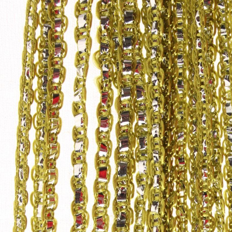 fadenvorhang mit lurex veredelt glitzer raumteiler t rvorhang gardine 200 x 90cm ebay. Black Bedroom Furniture Sets. Home Design Ideas