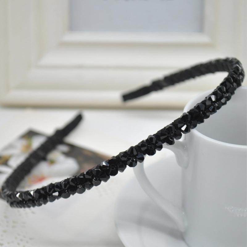 Luxus Strass Haarreif Hochzeit Blumen Haarschmuck schwarz weiß NEU ...