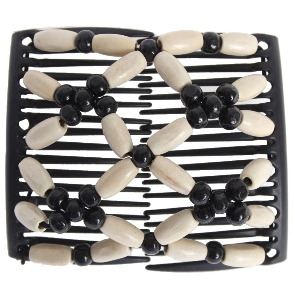Trend African Hairclip Haarklammer Haargreifer Butterfly Holzdesign Grün