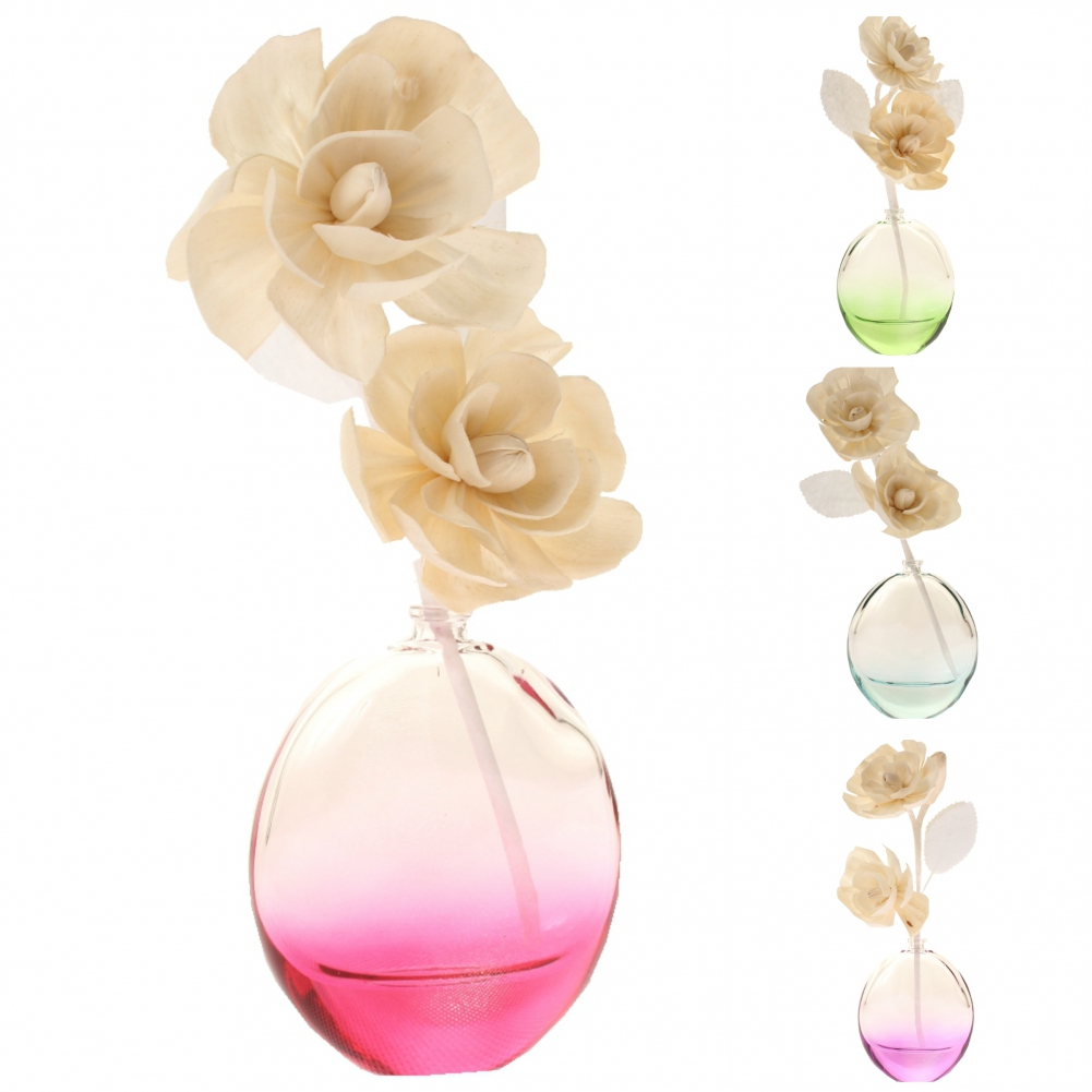 xxl duft l aroma l blumen st bchen deko glas vase verschiedene d fte 80 ml. Black Bedroom Furniture Sets. Home Design Ideas