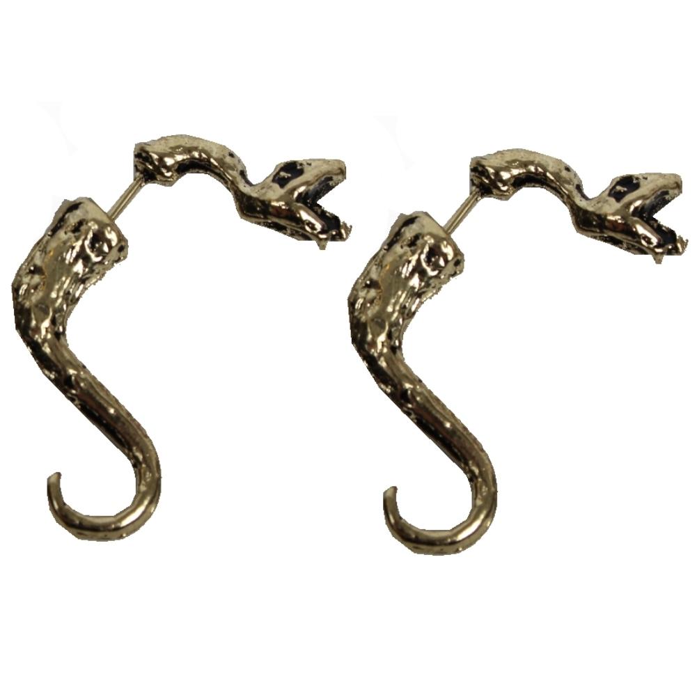 3d schlange ohrringe ohrstecker ohrschmuck earring snake. Black Bedroom Furniture Sets. Home Design Ideas