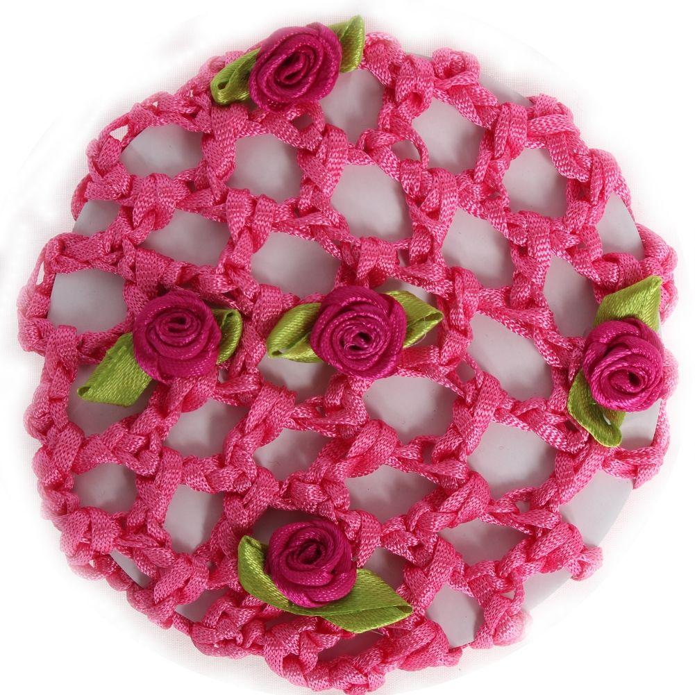 pink mit Blüten