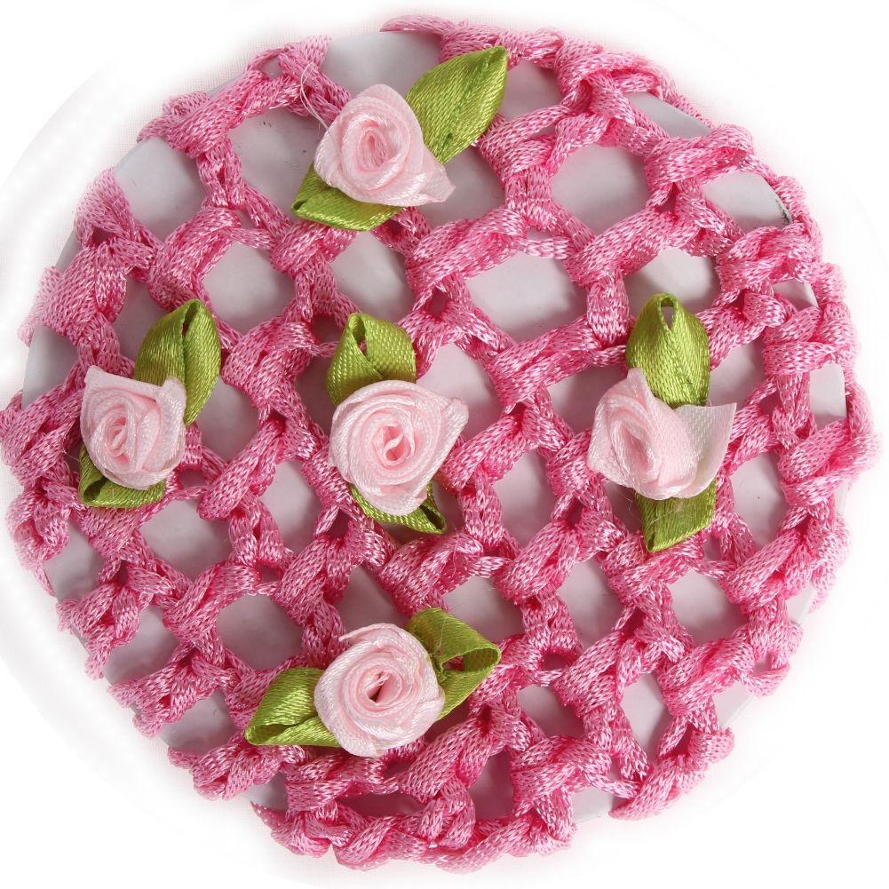 rosa mit Blüten