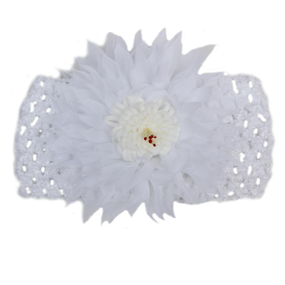 Baby & Kinder Haarband Weiß Schleife Kopfband Stirnband Taufe Fest Neu Clothing, Shoes & Accessories