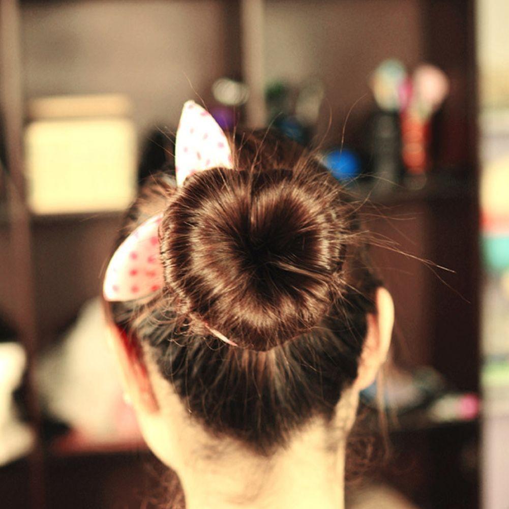 Haar Styling Zubehör Herz Dutt Flechten Magic Hair Pin Frisurhilfe