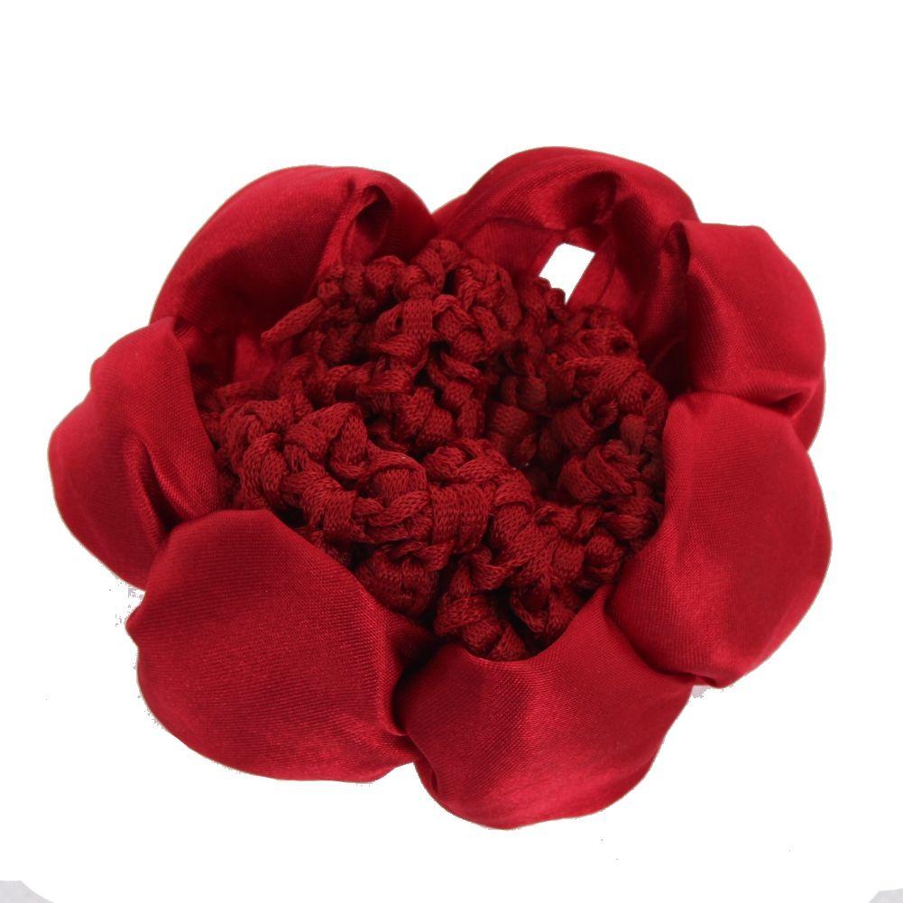 dutt netz haarnetz bun ballett haar frisurenhilfe stoff knotennetz rot ebay. Black Bedroom Furniture Sets. Home Design Ideas