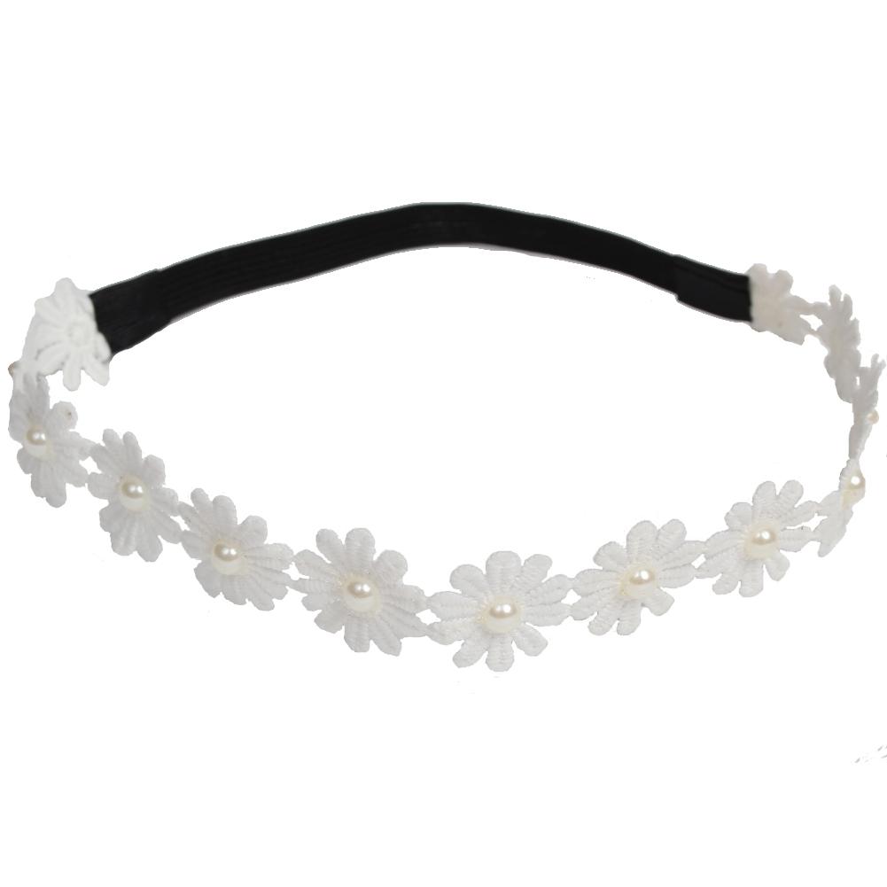 Stirnband Strass Perlen Haarband Kopfband Zopfgummi Haarschmuck Kopfschmuck