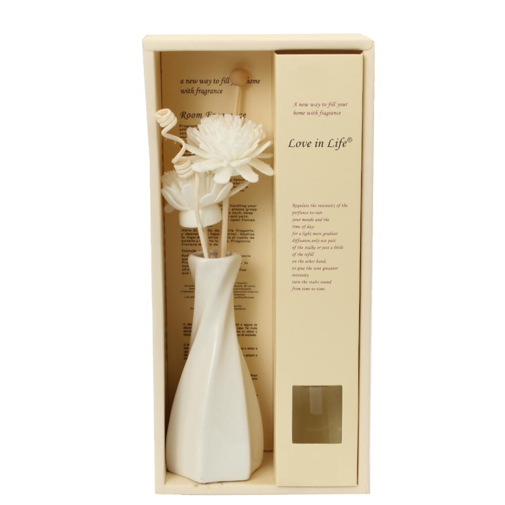duft l aroma l blumen st bchen deko vase verschiedene d fte 30ml aroma diffuser ebay. Black Bedroom Furniture Sets. Home Design Ideas
