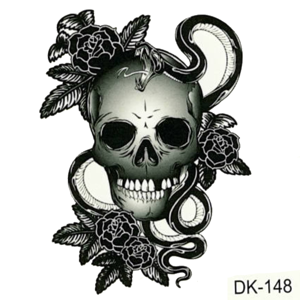 tattoo totenkopf badass crazy skull tattoos 36 totenkopf rosen tattoo am bein trash tattoo. Black Bedroom Furniture Sets. Home Design Ideas