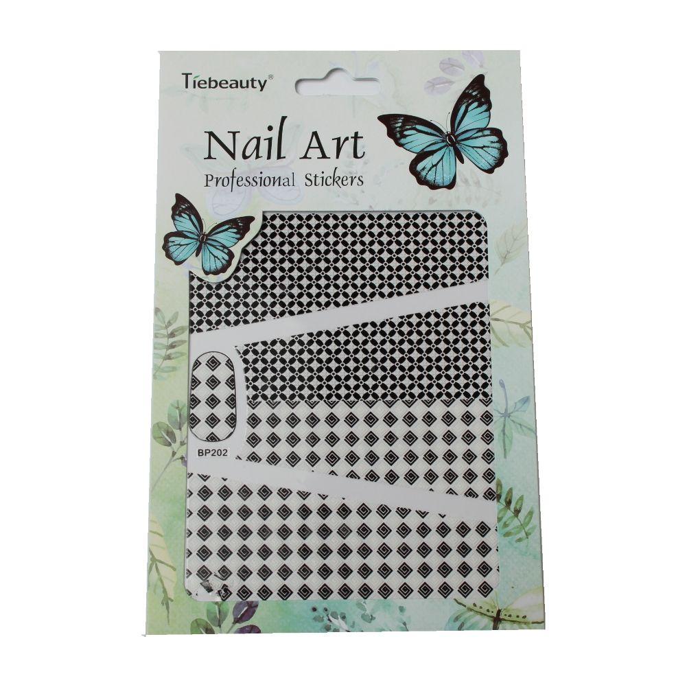 3D Nagel Sticker Nail Art Ornamente Blumen Stern Herz New Design ...