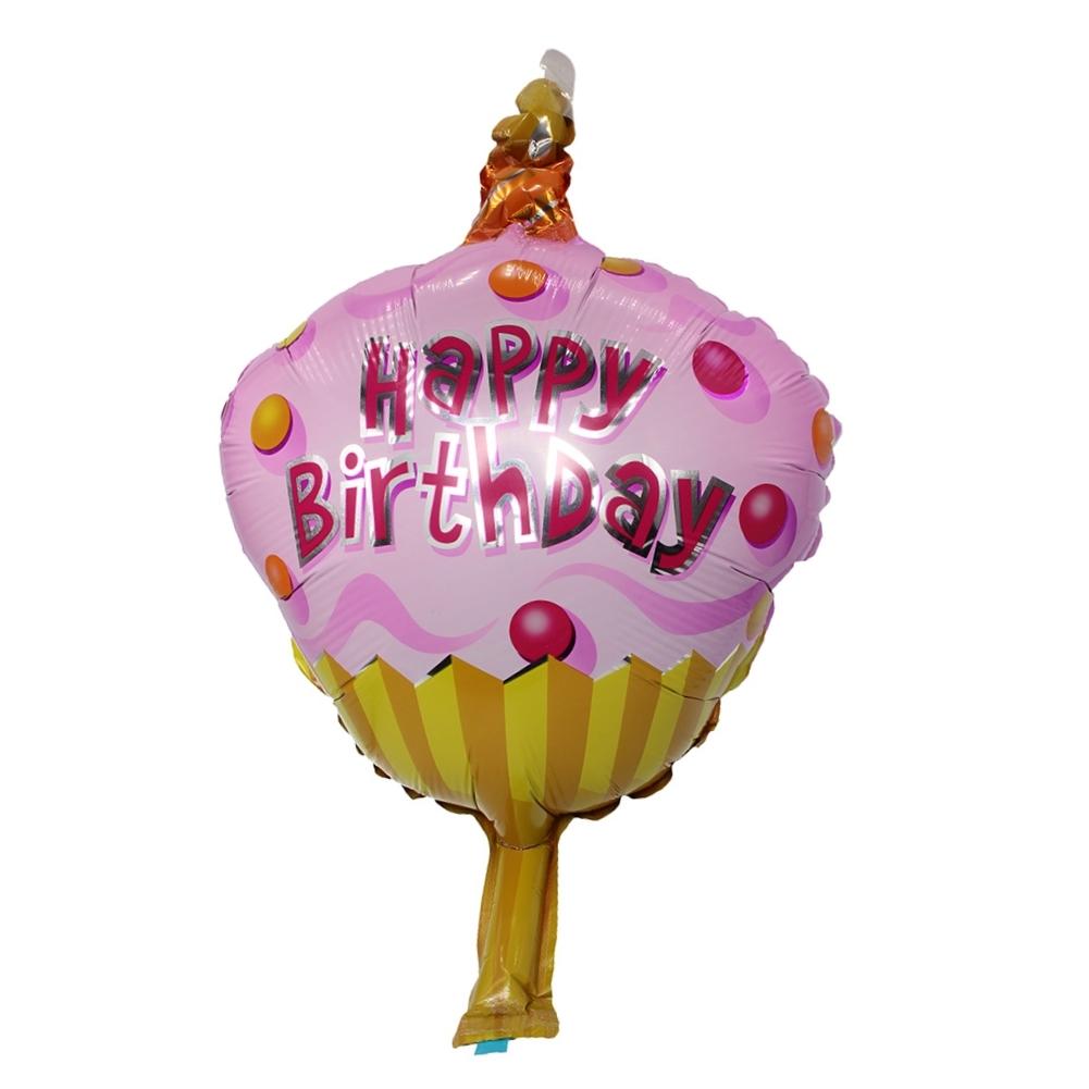 Folienballon Luftballon Geburtstag Happy Birthday Party Deko Rosa ...