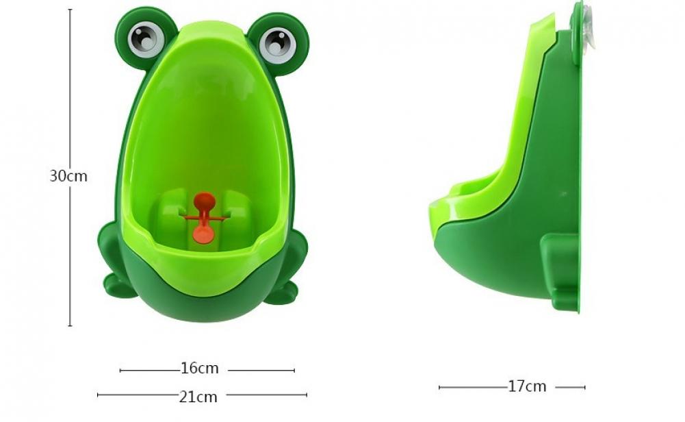 frog urinal kinder t pfchen urinflasche f r baby pee pissoir training toilette ebay