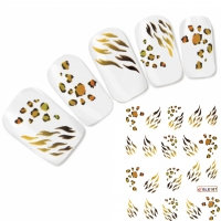Tattoo Muster Nail Art Aufkleber Motiv Nagel Sticker Neu!