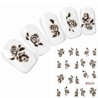 Tattoo Nail Art Flower Aufkleber Blume Nagel Sticker Neu!