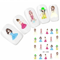 Tattoo Nail Art Manga Aufkleber Nagel Sticker Neu!