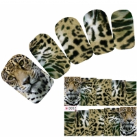 Tattoo Nail Art Löwe Aufkleber Nagel Sticker Neu!
