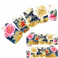 Tattoo Nail Art Japan Aufkleber Nagel Sticker Neu!