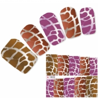 Tattoo Nail Art Aufkleber Leopard Muster Nagel Sticker Neu!