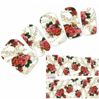 Tattoo Nail Art Aufkleber Blume Nagel Sticker Neu!