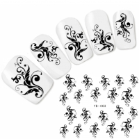 Tattoo Nail Art Ornamente Aufkleber Nagel Sticker