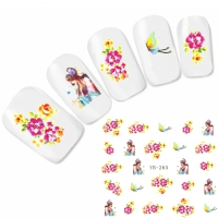 Tattoo Nail Art Japan Manga Aufkleber Nagel Sticker