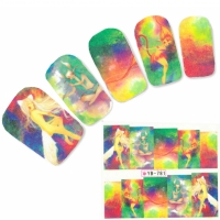 Tattoo Nail Art Aufkleber Manga Japan Nagel Sticker