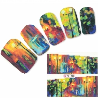 Tattoo Nail Art Aufkleber Fantasy Nagel Sticker