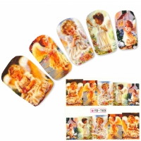 Tattoo Nail Art Engel Aufkleber Nagel Sticker