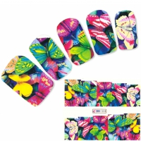 Tattoo Nail Schmetterlinge Butterfly Falter Nagel Sticker