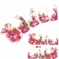 Tattoo Nail Blumen Bl�ten Nagel Sticker