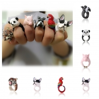 Tier Ring Modeschmuck One Size in 6 Varianten