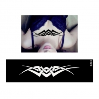 Henna Tattoo Schablone Airbrush Stencil Tribal