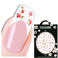 3D Nagel Sticker Nail Art Aufkleber Rose Anker Aufkleber New Design
