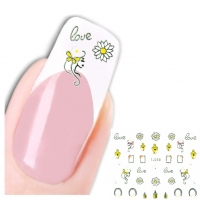 3D Nagel Sticker Nail Art Aufkleber Parfüm Love Design